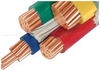 de boa qualidade cabo de força isolado XLPE & cabos isolados PVC do condutor do cobre 1000V personalizados com meio núcleo três à venda
